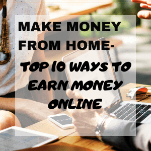10 legit ways to make money online