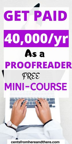 Find out how to become a proofreader and make money from home, online or anywhere! The perfect guide for moms or beginners that want to make money from home with a full-time or part-time side hustle. #stayathomemomjobs #jobsformoms #onlinejobs #legitimateworkfromhomejobs #extraincome