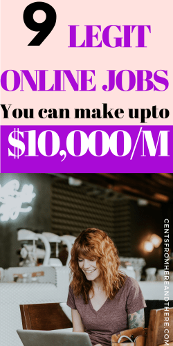 Here are 9 side hustle ideas that will help you to make more than $8k+ per month working at your spare time. #workfromhome #legitimateworkfromhomeopportunities #passiveincome #onlinebusinessideas #makemoneyonline #workfromhomenoexperience